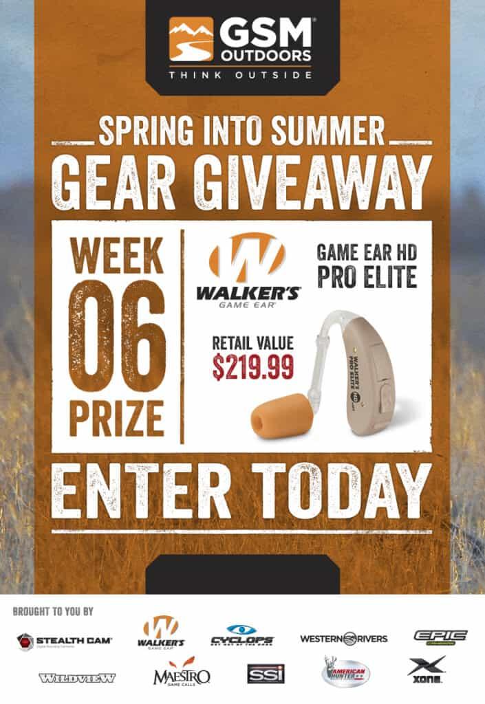 Walkers Game Ear Pro Elite Giveaway