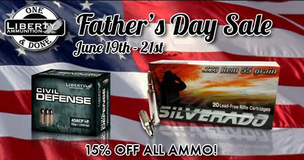 Liberty Ammunition Fathers Day Sale