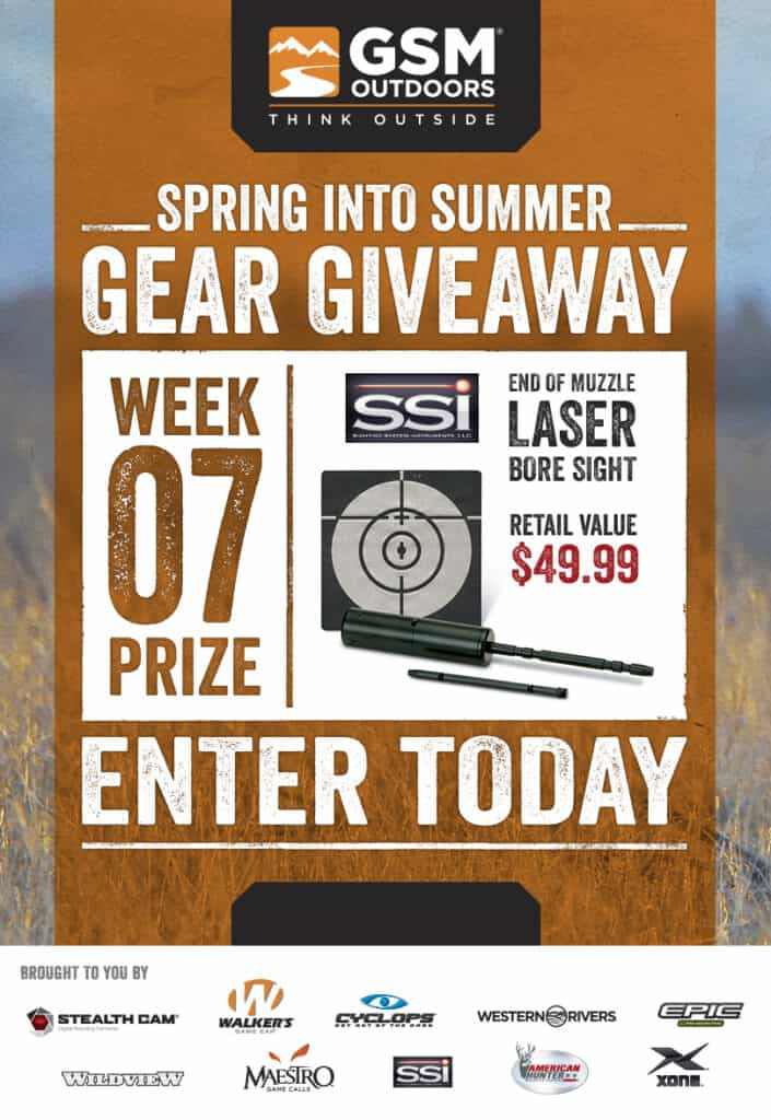 SSI Laser Bore Sighter Giveaway
