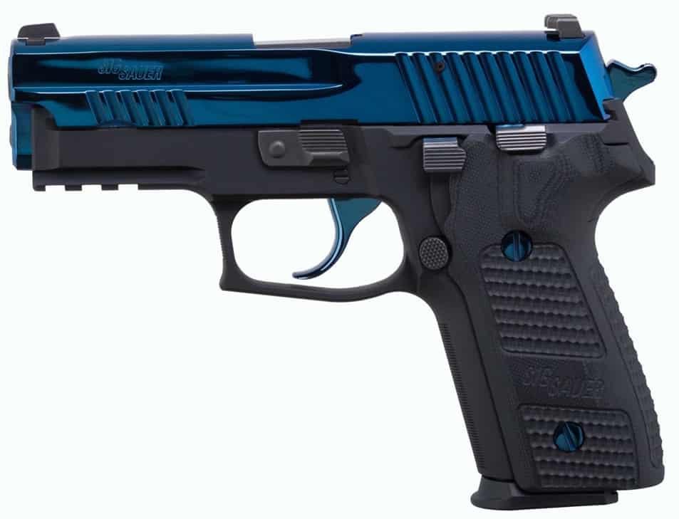 Sig P229 Blue Piranha