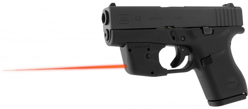 LaserLyte UTA-YY Mounted on Glock 43