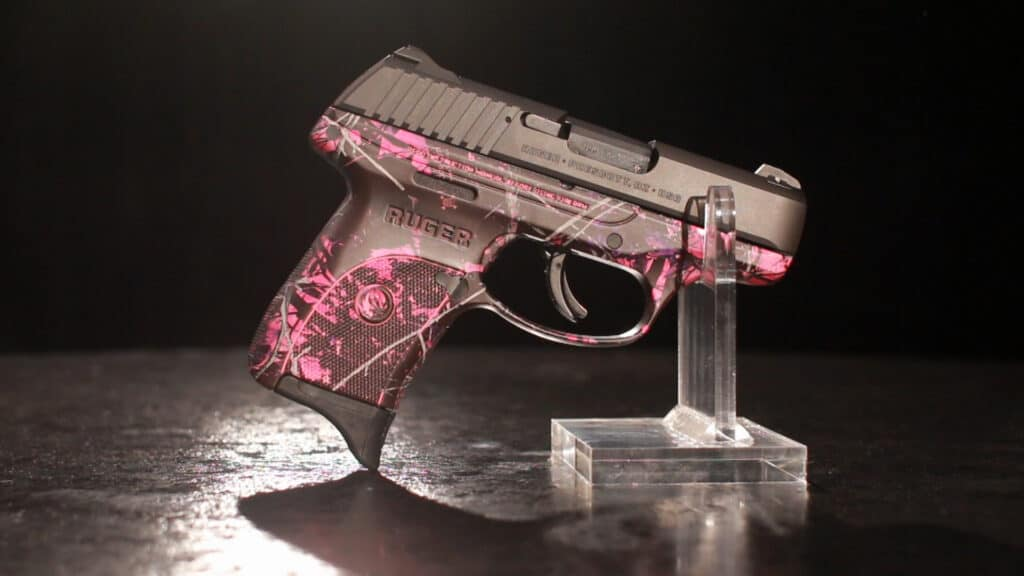Ruger LC9S in Muddy Girl Camo