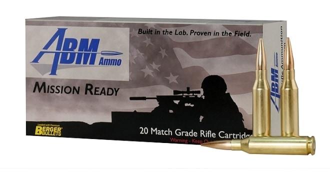 ABM 260 Remington 130gr Berger Match AR Hybrid OTM Tactical