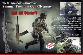 Kalashnikov USA GunProPlus Summer Premium Giveaway
