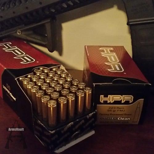 HPR 223 55gr Ammo