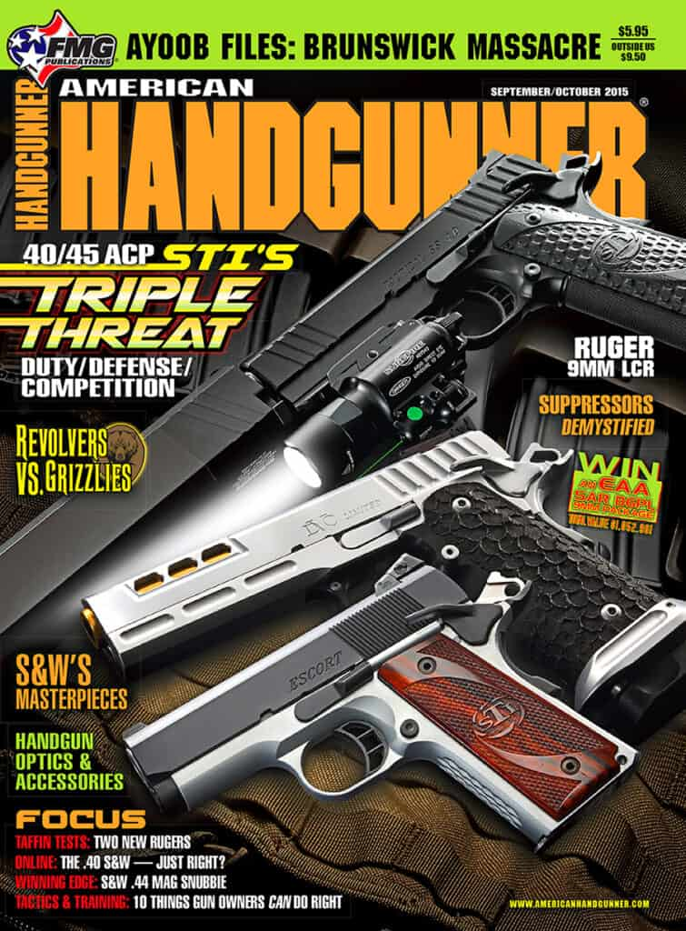 STI 1911 Pistols in American Handgunner Magazine