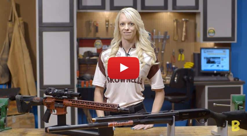 Brownells Partners with Janna Reeves for 3-Gun Video Series