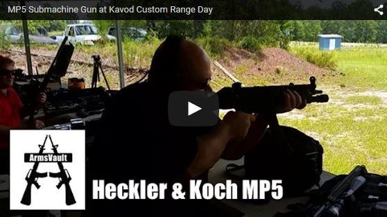 Kavod Custom Range Day - Heckler Koch MP5 Submachine Gun