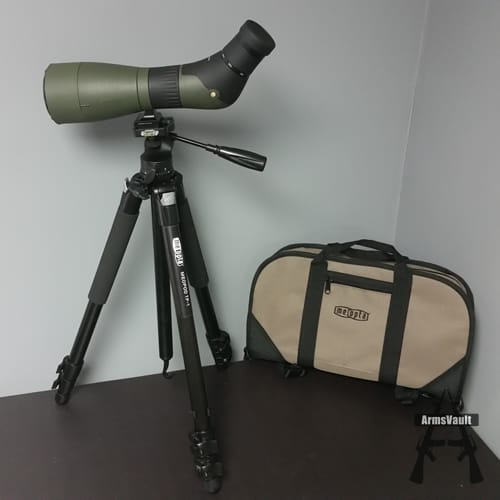 Meopta MeoPro HD 80 Spotting Scope and Case with MeoPod TP-1 Tripod