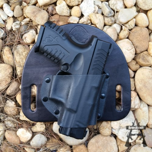 Springfield XDm in OWB Holster From CrossBreed Holsters