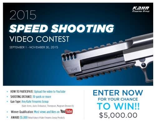 Kahr Speed Shooting Video Contest