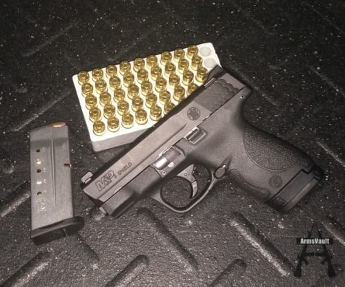 Smith and Wesson MP Shield 9mm No Thumb Safety