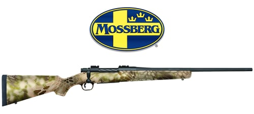Mossberg Patriot Bolt-Action Rifle with Kryptek Highlander Camo Stock