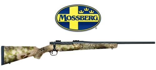 Mossberg Patriot Bolt-Action Rifle with Kryptek Highlander Camo Stock