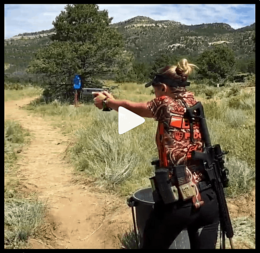 Heather Miller at the Rocky Mountain 3-Gun World Shoot