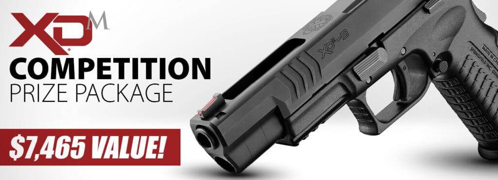 Springfield XDM Custom 9mm Pistol Giveaway