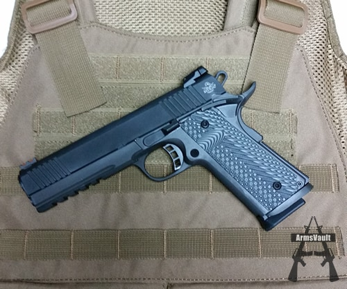 Rock Island Armory 1911 with Voodoo Tactical Plate Carrier