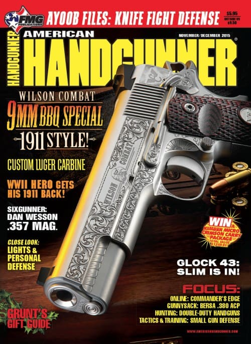 Wilson Combat 9mm BBQ Special Inside American Handgunner