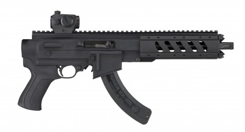 ATI AR-22 Pistol Stock for Ruger Charger
