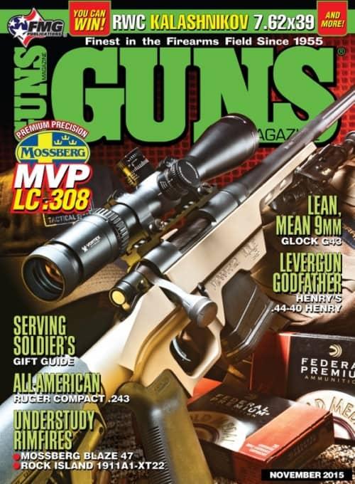 Mossberg MVP LC 308 in GUNS Magazine