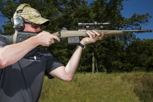Savage Arms Model 11 Scout Rifle