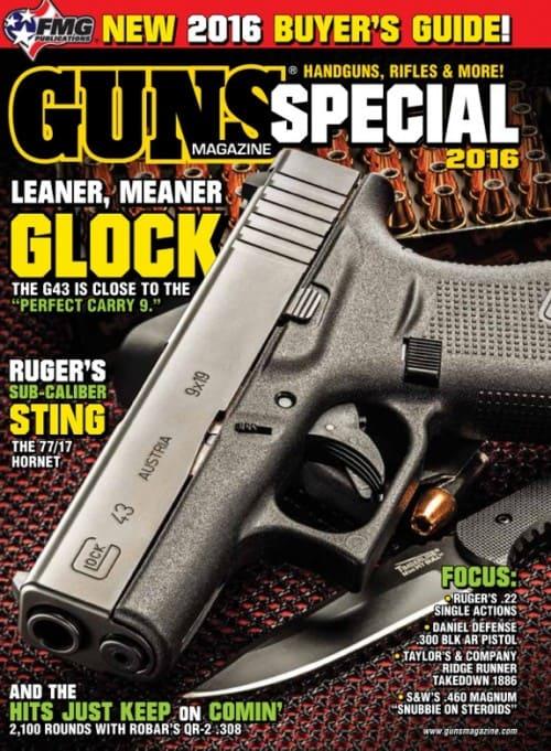 Glock 43 in GUNS Magazine