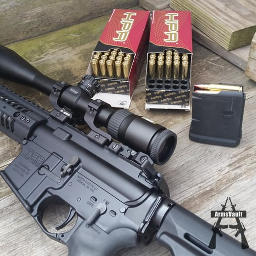 Kavod Custom KVD-15 and HPR 223 Rem 55gr V-MAX
