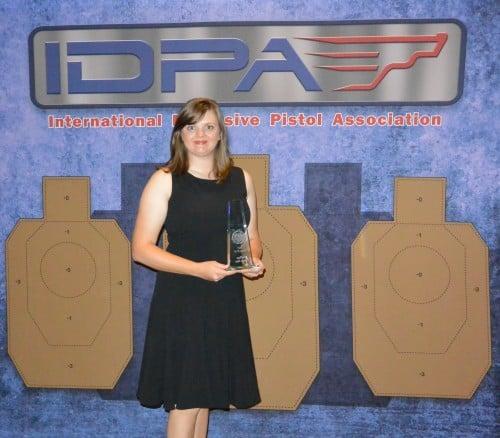 Randi Rogers IDPA Trophy