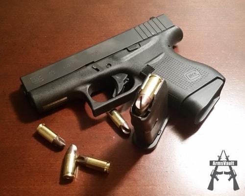 Glock 43 with Polycase ARX Self Defense Ammunition