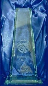 Gaston Quindi Vallergas 1st Place Trophy