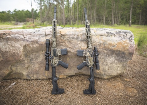 DSP Armory DSP-15 Rifles in Mossy Oak Camo