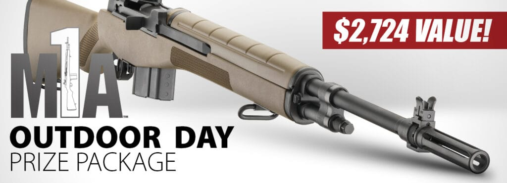 Springfield Armory M1A Rifle Giveaway
