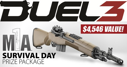 Springfield M1A Scout Squad Rifle Giveaway