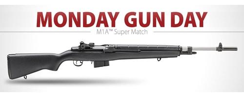 Springfield M1A Super Match Rifle