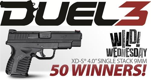 Springfield XD-S 9mm Handgun Giveaway