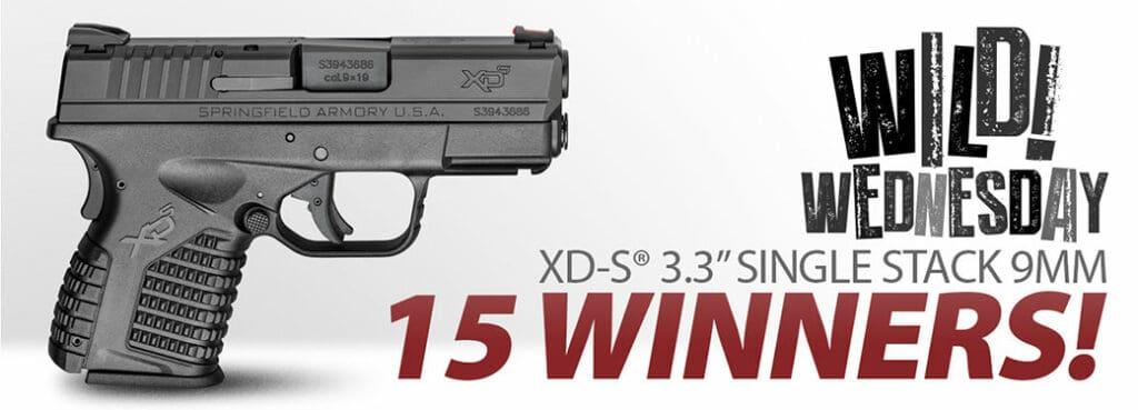 Springfield XD-S Handgun Giveaway