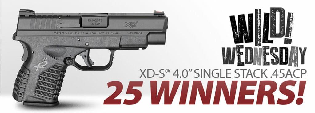 Springfield XD-S 45ACP Handgun Giveaway