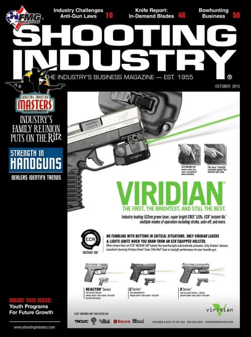 Shooting Industry October 2015 Cover