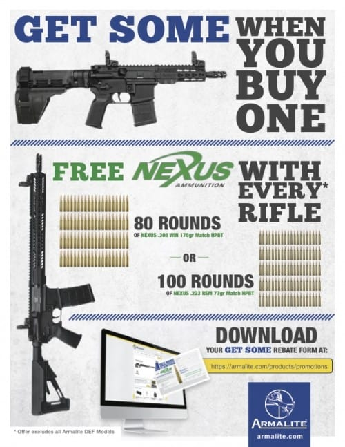 Armalite Get Some Ammo Promotion