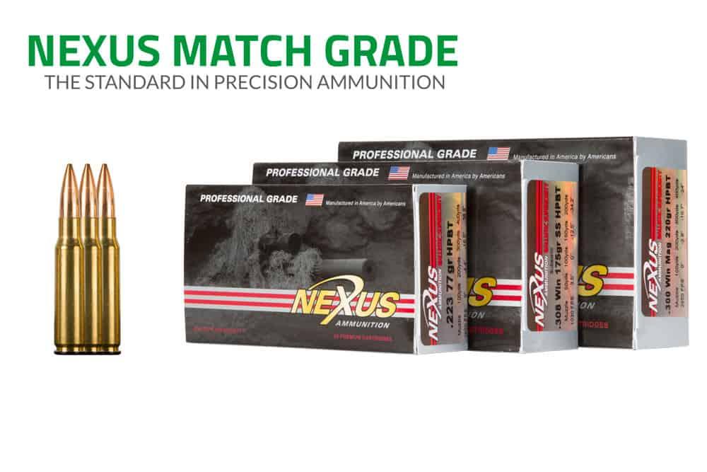 Nexus Match Grade Ammunition