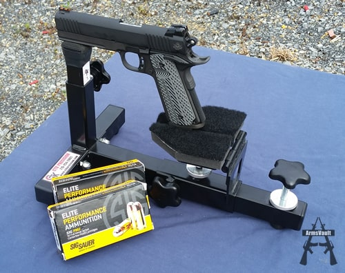 Rock Island Armory TCM TAC Ultra FS with Sig 9mm FMJ