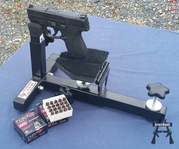 SW Shield and PolyCase Inceptor ARX 9mm Ammunition