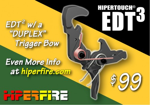 HIPERFIRE HIPERTOUCH EDT3 AR Fire Control Group
