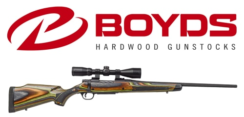 Mossberg Patriot Rifle with Boyds Gunstock
