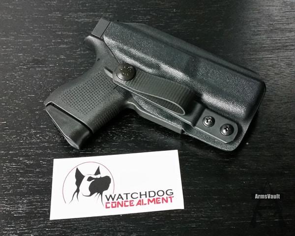 Watchdog Concealment Back Up Holster for Glock 43