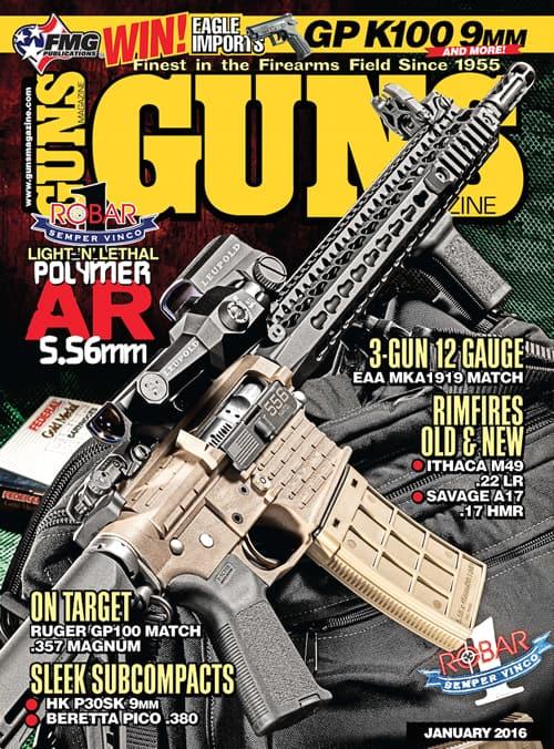 January GUNS Magazine