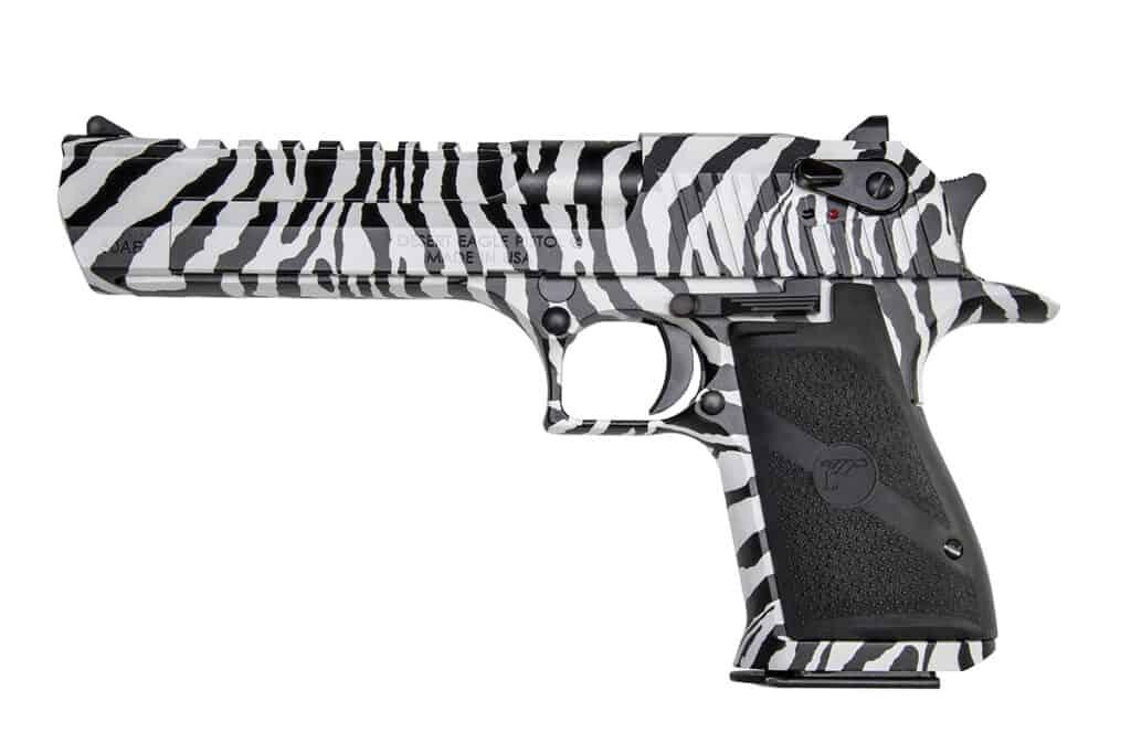 Desert Eagle Zebra