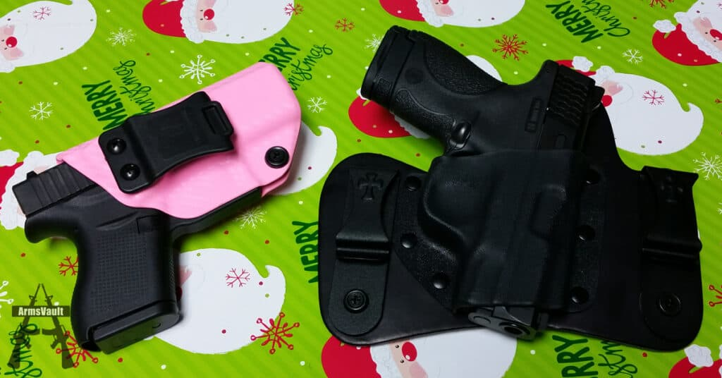 Conclealed Carry - Glock 43 and SW Shield in Holsters