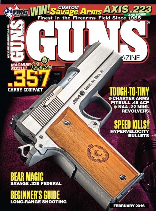 Coonan 357 Magnum Compact in GUNS Magazine