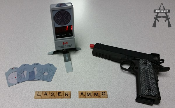 Laser Ammo Training System and Rock Island Armory 1911